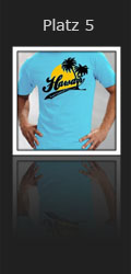 Platz 5 - Hawaii Surf Contest Shirt